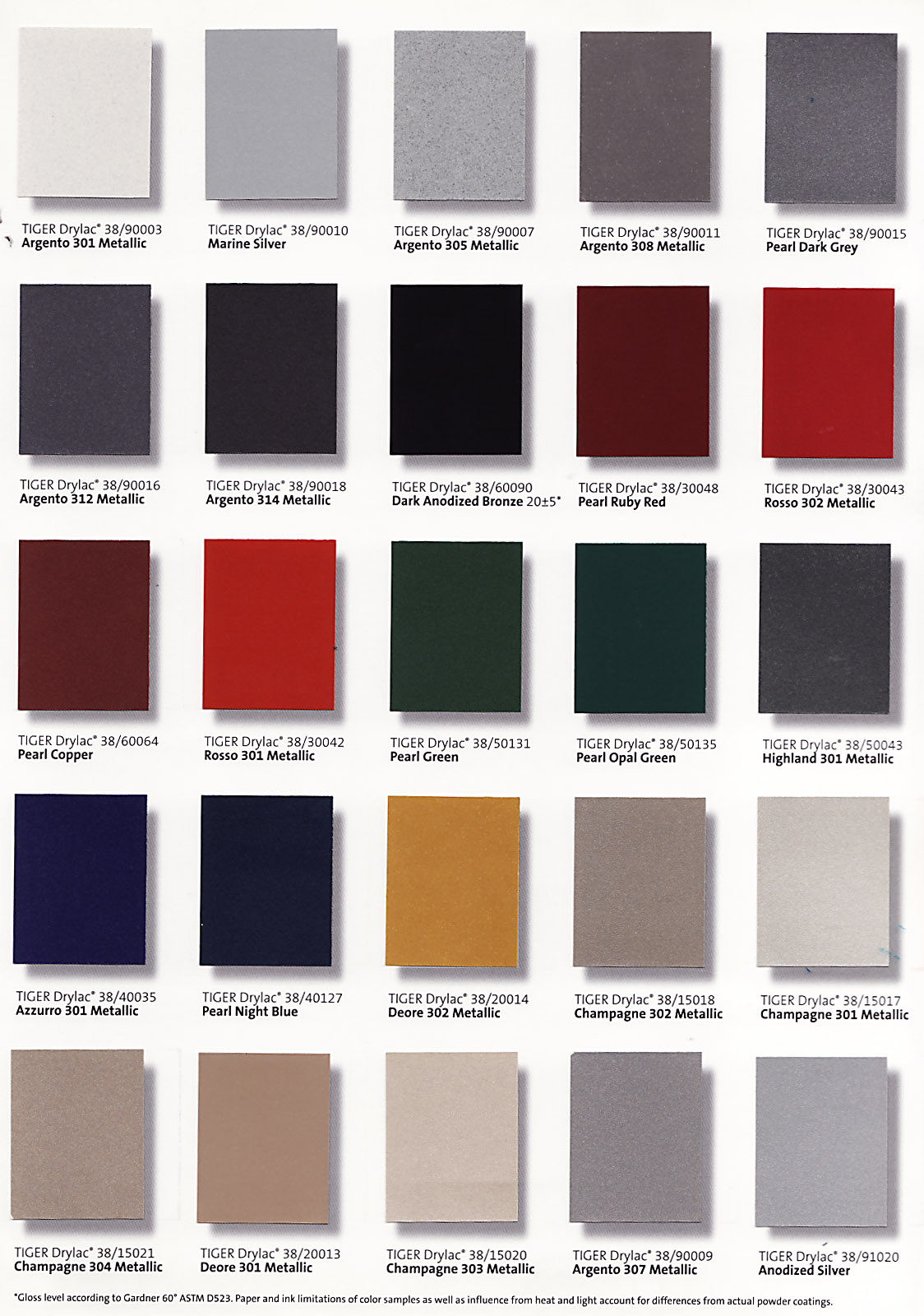 Seafurniture powder coat colors nvjuhfo Image collections