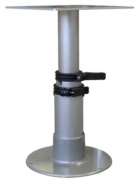 Aluminum Gas Rise Table Pedestal  3 Stage