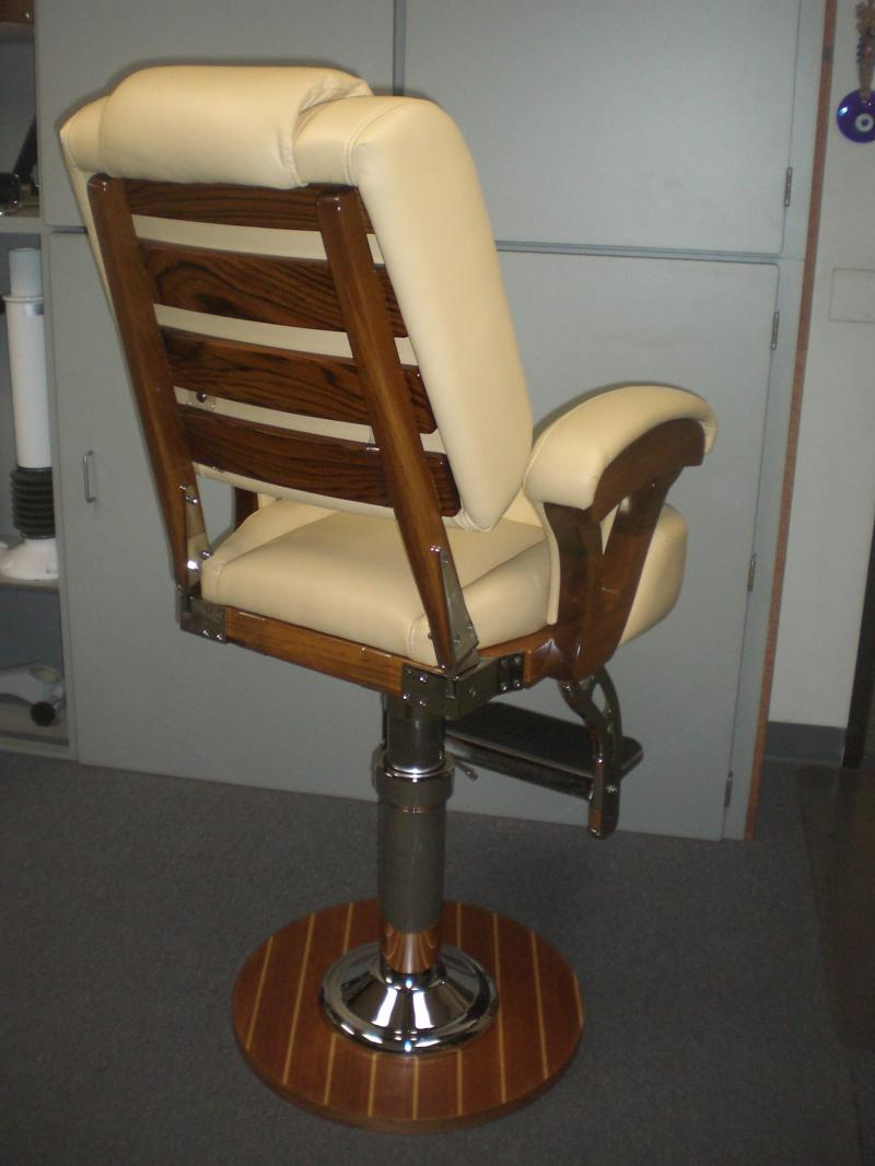 Teak Helm Chair